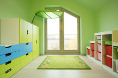 Красочная комната детей Стоковое Изображение RF