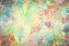 Красочная краска акварели на холсте Супер высокая предпосылка разрешения и качества иллюстрация вектора