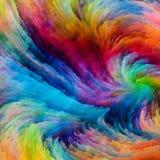 Красочная краска виртуальная иллюстрация штока