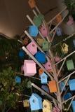 Красочная крошечная модель дома Стоковое Изображение RF