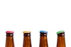 Красочная крышка бутылки пива Стоковое фото RF