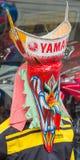 Красочная маска в фестивале Khon животиков Phi, Loei призрака, Таиланд стоковая фотография