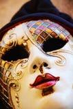 Красочная маска, деталь, outdoors, в Венеции, Италия Стоковое Фото