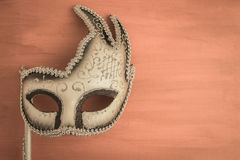Красочная маска масленицы стоковое фото rf