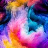 Красочная метафора краски Стоковое Изображение RF