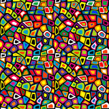 Красочная мозаика безшовная бесплатная иллюстрация