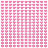 Красочная открытка влюбленности Иллюстрация штока