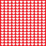 Красочная открытка влюбленности Бесплатная Иллюстрация