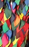 красочная пестротканая предпосылка ткани для того чтобы создать dre масленицы Стоковые Фото