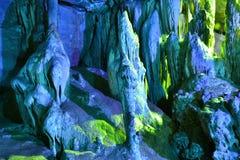 Красочная пещера Karst Стоковые Изображения
