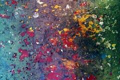 Красочная поверхность Стоковая Фотография RF