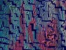 Красочная покрашенная поверхностная текстура на бумаге стоковые фотографии rf
