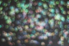 Красочная праздничная искра светов Shinny абстрактная предпосылка Bokeh стоковые фото