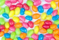 Красочная предпосылка желейных бобов для текстового поля Стоковое фото RF