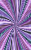 Красочная предпосылка нашивок цвета волнистых расходится от середины к краям Стоковая Фотография RF