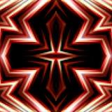 Красочная предпосылка от квадратов Перекрестный пиксел орнамента i Стоковая Фотография RF