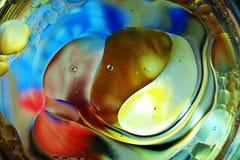 Красочная предпосылка от падений воды Стоковое фото RF