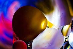 Красочная предпосылка от падений воды Стоковые Фото