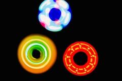 Красочная предпосылка света круга 3 Стоковая Фотография RF