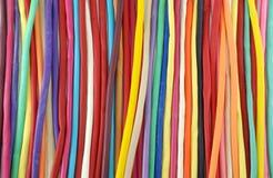 Красочная предпосылка белизны воздушных шаров Стоковая Фотография