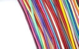 Красочная предпосылка белизны воздушных шаров Стоковые Фотографии RF