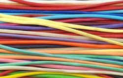 Красочная предпосылка белизны воздушных шаров Стоковая Фотография RF