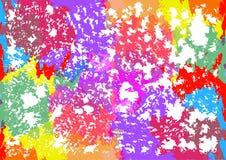 Красочная предпосылка вектора пятен Стоковые Фотографии RF