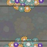 Красочная предпосылка вектора цветка Стоковое Изображение RF