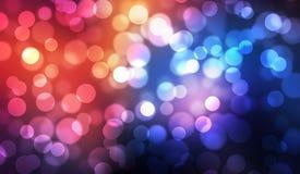 Красочная предпосылка графика иллюстрации конспекта bokeh Стоковая Фотография RF