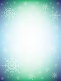 Красочная предпосылка зимы Стоковое Фото
