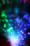 Красочная предпосылка кабеля сети волокна оптически Стоковые Фотографии RF