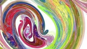 Красочная предпосылка конспекта twirl иллюстрация штока