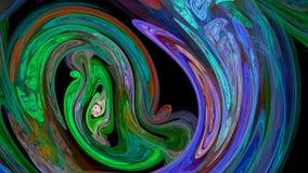 Красочная предпосылка конспекта twirl стоковые фото