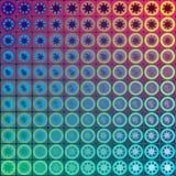 Красочная предпосылка, мозаика Стоковое Изображение RF