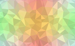 Красочная предпосылка мозаики решетки радуги Стоковое Изображение