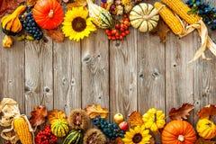 Красочная предпосылка на хеллоуин и благодарение Стоковые Изображения