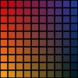 Красочная предпосылка, радуга придает квадратную форму, мозаика, чернота Стоковые Фото