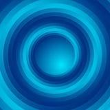 Красочная предпосылка спирального вортекса вращающ, концентрические круги Стоковая Фотография RF