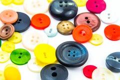 Красочная рамка кнопок Стоковые Фотографии RF
