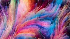 Красочная реальность краски стоковая фотография rf