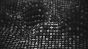 красочная сетка молекулы сети 4K бесплатная иллюстрация