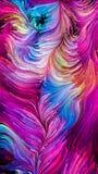 Красочная синергия краски Стоковое фото RF