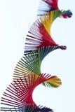 Красочная спираль в небе Стоковое фото RF