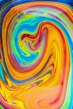Красочная спираль картины маслом Стоковые Фотографии RF