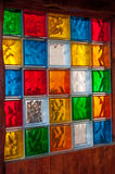 Красочная стеклянная мозаика Стоковые Изображения