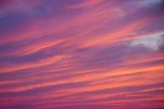 Красочная текстура захода солнца лета стоковое фото rf
