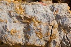 Красочная текстура камня моря Стоковое фото RF