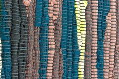 Красочная текстура ковра Стоковая Фотография RF
