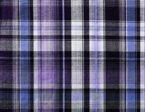 Красочная текстура ткани, нашивки Стоковое Фото