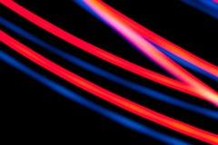 Красочная темнота, лазер стоковые фотографии rf